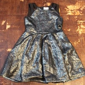 🌈Girls Children's Place Glitter Party Dress Sz 8